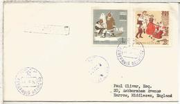 URSS CC CON MAT POLO NORTE 1962 NORTH POLE 10 - Expediciones árticas