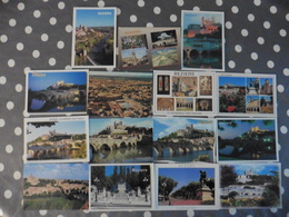 LOT  DE  15     CARTES POSTALES   NEUVES   DE    BEZIERS - Cartes Postales
