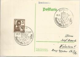 ALEMANIA REICH BERLIN 1937 VISITA DE MUSSOLINI A HITLER FASCISMO NAZISMO - WW2 (II Guerra Mundial)