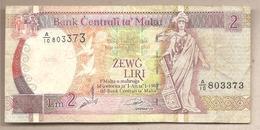 Malta - Banconota Circolata Da 2 Lire P-45a - 1994 - Malta