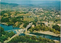 CPM  De  VALLON  PONT  D' ARC  (07)   -  Vue  Aérienne  Du  Pont  De  Salavas     //   TBE - Vallon Pont D'Arc