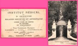 Cp Publicitaire - Château De Petite Synthe - Institut Médical Du Dr DEWEVRE - Maison De Repos - Traitement Physique - Non Classés