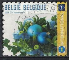 Belgique 2009 Oblitéré Rond Used Noël Et Nouvel An Boules De Noël Bleues SU - Belgique