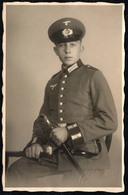 C0762 - Offizier Uniform Säbel -  2. WK WW - Kurt Rämisch Torgau - Uniformes