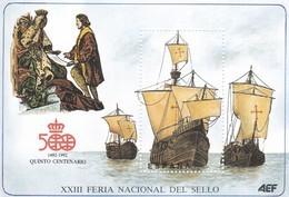 España HR - Feuillets Souvenir