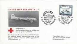 Dakota C-47. Open Airport Vojens Denmark 1983. H-1481 - Transportmiddelen