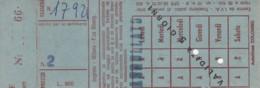 ABBONAMENTO SETTIMANALE SEGRATE (BX177 - Abbonamenti