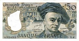 9414-2018    BILLET DE BANQUE 50 FRANCS QUENTIN DE LA TOUR 1977 - 1962-1997 ''Francs''