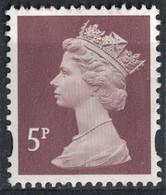 Royaume Uni 2011 Sans Gomme Used Queen Reine Elizabeth II 5 Penny SU - Machins