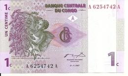 CONGO 1 CENTIME 1997 UNC P 80 - Congo