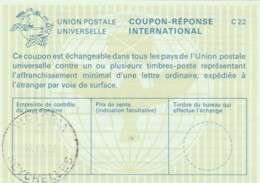 COUPON-REPONSE INTERNATIONAL 2002 VICTORIA SEYCHELLES (LY422 - Seychelles (1976-...)