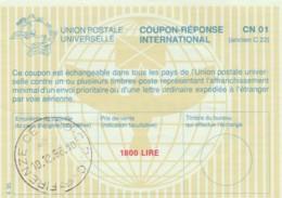 COUPON-REPONSE INTERNATIONAL 1996 1800 LIRE FIRENZE ITALIA (LY495 - 6. 1946-.. Repubblica
