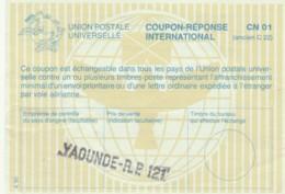 COUPON-REPONSE INTERNATIONAL YAOUNDE CAMERUN (LY534 - Camerun (1960-...)