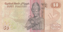 BANCONOTA EGITTO 50 PIASTRA VF (LY559 - Egitto