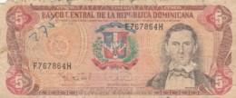 BANCONOTA REPUBBLICA DOMINICANA VF- (LY573 - Repubblica Dominicana