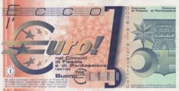 BANCONOTA PROTOTIPO EURO Q-UNC (LY579 - Prove Private