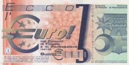 BANCONOTA PROTOTIPO EURO Q-UNC (LY580 - EURO