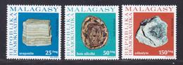 MADAGASCAR N°   590 à 592 ** MNH Neufs Sans Charnière, TB (D7875) Roches De Madagascar 1976 - Madagaskar (1960-...)