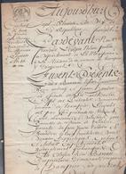 Manuscrit De L'an 10 De La République.Louis Bansard à Champéon Et René Bareau à Champéon.Superbe Calligraphie. - Manuscripts