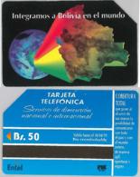 PHONE CARD - URMETBOLIVIA (E31.3.8 - Bolivië