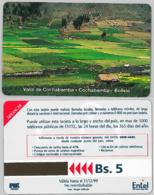 PHONE CARD - URMETBOLIVIA (E31.4.1 - Bolivia