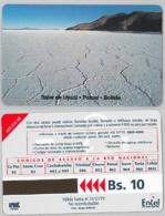 PHONE CARD - URMETBOLIVIA (E31.4.2 - Bolivië