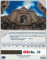 PHONE CARD - URMETBOLIVIA (E31.4.5 - Bolivië