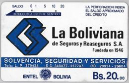PHONE CARD - BOLIVIA (E31.5.4 - Bolivië