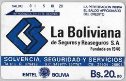 PHONE CARD - BOLIVIA (E31.5.4 - Bolivia