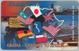 PHONE CARD - GHANA (E31.16.4 - Ghana