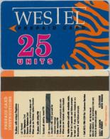 PREPAID PHONE CARD- WESTEL-GHANA (E31.18.1 - Ghana