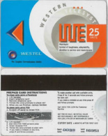 PREPAID PHONE CARD- WESTEL-GHANA (E31.18.2 - Ghana