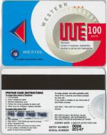 PREPAID PHONE CARD- WESTEL-GHANA (E31.18.5 - Ghana