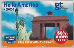 PREPAID PHONE CARD-GHANA (E31.19.2 - Ghana