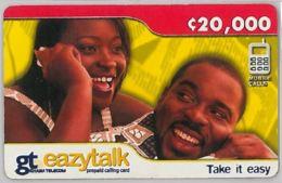 PREPAID PHONE CARD-GHANA (E31.20.2 - Ghana