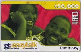 PREPAID PHONE CARD-GHANA (E31.20.4 - Ghana