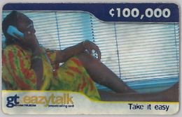 PREPAID PHONE CARD-GHANA (E31.20.6 - Ghana