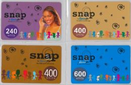 LOT 4 PREPAID PHONE CARD- GHANA (E31.23.5 - Ghana