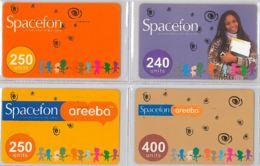 LOT 4 PREPAID PHONE CARD- GHANA (E31.24.5 - Ghana