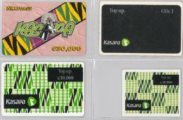 LOT 4 PREPAID PHONE CARD- GHANA (E31.31.1 - Ghana