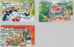 LOT 3 PHONE CARD- HONG KONG (E31.34.1 - Hong Kong