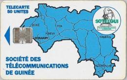 PHONE CARD - GUINEA (E32.1.3 - Guinee