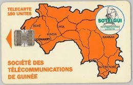 PHONE CARD - GUINEA (E32.1.4 - Guinea
