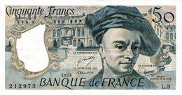 9418-2018    BILLET DE BANQUE 50 FRANCS QUENTIN DE LA TOUR 1976 - 1962-1997 ''Francs''