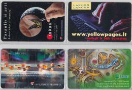 LOT 4 PHONE CARD- LITUANIA (E33.12.5 - Lithuania