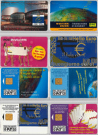 LOT 4 PHONE CARD- LUSSEMBURGO (E33.20.5 - Lussemburgo