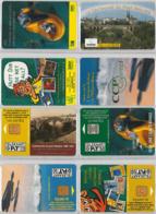 LOT 4 PHONE CARD- LUSSEMBURGO (E33.20.1 - Lussemburgo