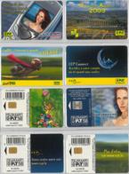 LOT 4 PHONE CARD- LUSSEMBURGO (E33.22.1 - Lussemburgo