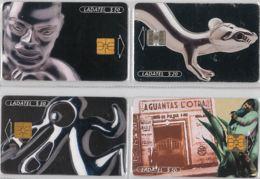 LOT 4 PHONE CARD- MESSICO (E33.30.1 - Mexico