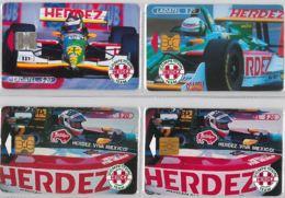 LOT 4 PHONE CARD- MESSICO (E33.36.1 - Mexico